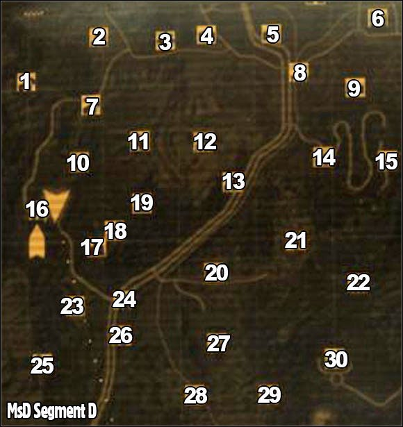 New Vegas World Map.Segment D World Map Fallout New Vegas Game Guide Gamepressure Com