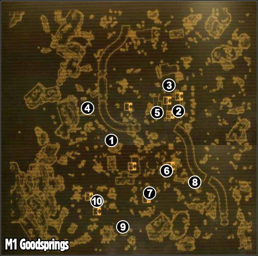 Map Of Fallout New Vegas