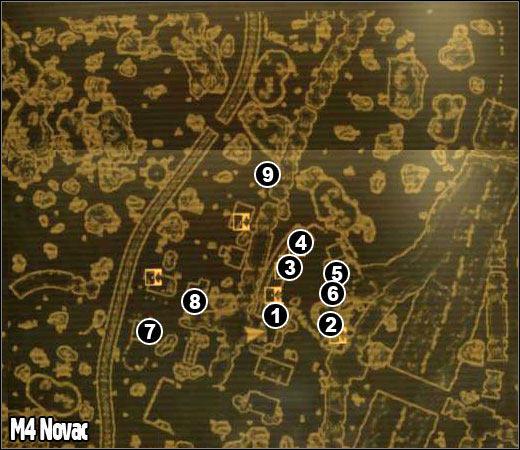 M4 - Novac | Maps - Fallout: New Vegas Game Guide | gamepressure.com