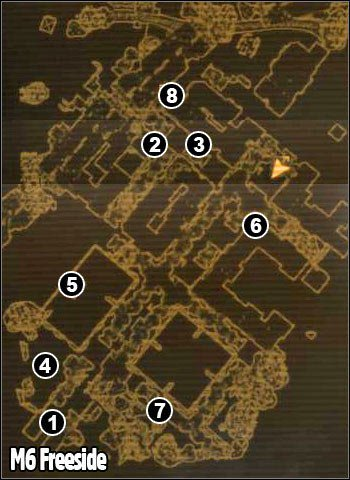 1 - M6 - Freeside - Maps - Fallout: New Vegas - Game Guide and Walkthrough