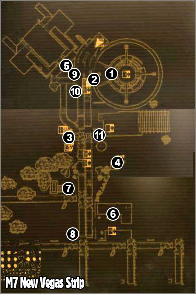 M7 - New Vegas Strip - p. 1 | Maps - Fallout: New Vegas Game Guide ...