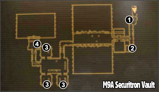 M9 The Fort Maps Fallout New Vegas Game Guide