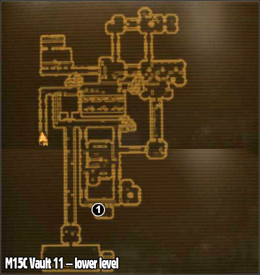 1 - M15 - Vault 11 - Maps - Fallout: New Vegas - Game Guide and Walkthrough