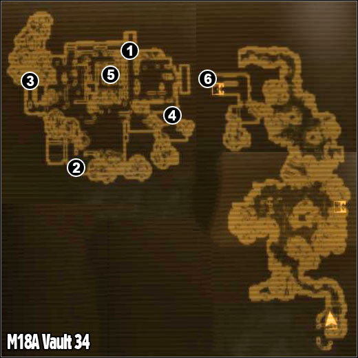 M Vault Maps Fallout New Vegas Game Guide - Fallout nv map to us