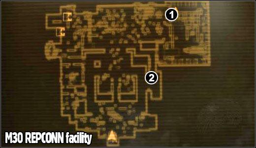 m30 repconn facility maps fallout new vegas game guide