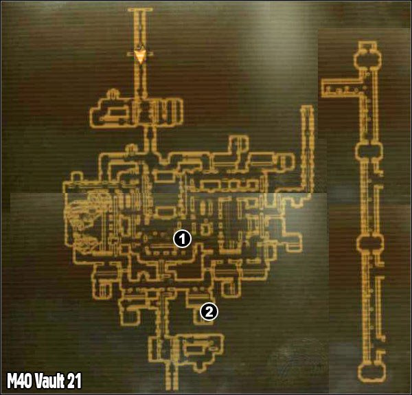 M40 - Vault 21 | Maps - Fallout: New Vegas Game Guide