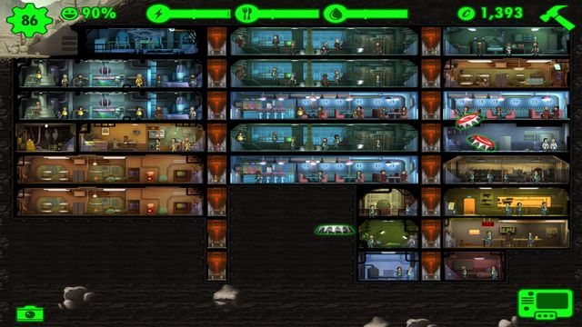 Fallout Shelter How To Make Big Rooms