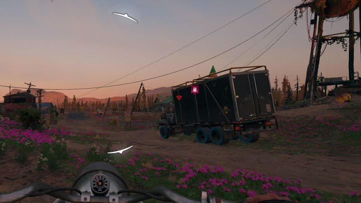 A supply convoy. - Convoys with supplies in Far Cry New Dawn - Side activities - Far Cry New Dawn Guide