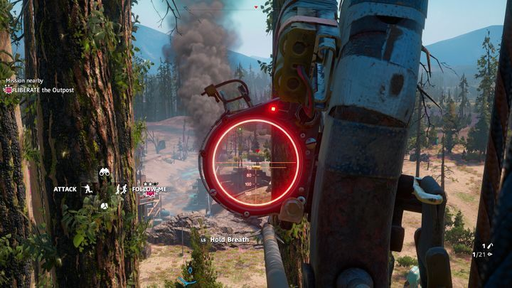 Commentary: To unlock this achievement you will have to equip yourself with a long-range bow - Trophies and Achievements in Far Cry New Dawn - Achievements - Far Cry New Dawn Guide
