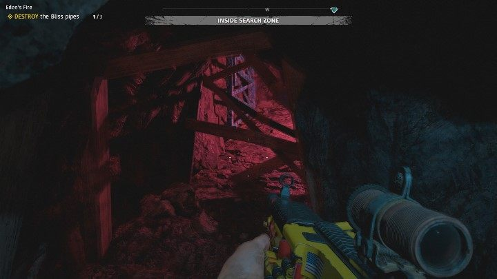 The situation looks identically in the western part of the cave - Edens Fire | Far Cry New Dawn Walkthrough - Story Missions - Far Cry New Dawn Guide