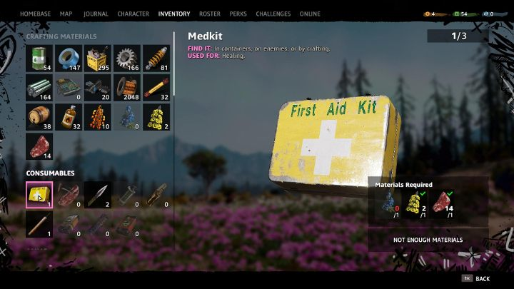 It is always worth having at least one first-aid kit with you. - Tips for start Far Cry New Dawn - Game basics - Far Cry New Dawn Guide