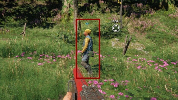 An NPC with information about a hidden treasure. - Hidden treasures - locations, hints, and required perks in Far Cry New Dawn - Hidden treasures - Far Cry New Dawn Guide
