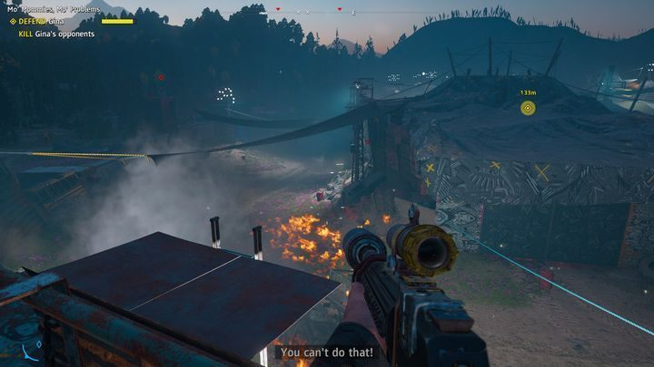 The second way involves destroying the vehicles - Mo Mommies, Mo Problems - Far Cry New Dawn Walkthrough - Side Missions - Far Cry New Dawn Guide