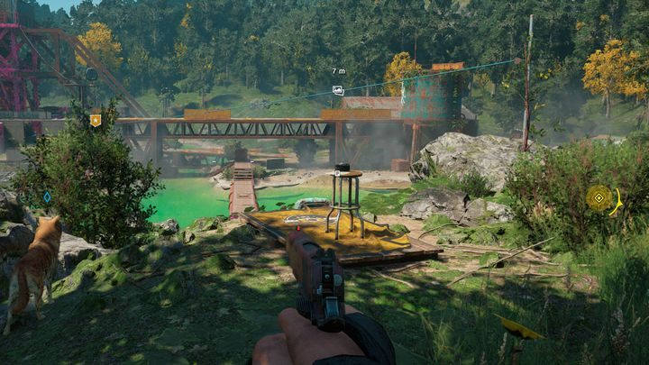 Each of these locations contains a special stand where you can compare the postcard - Photograph locations map for Far Cry New Dawn - World Atlas - Far Cry New Dawn Guide