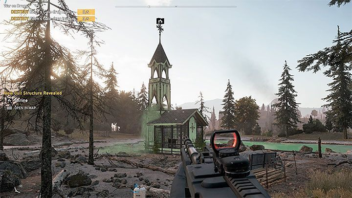 Shrines Map In Henbane River Region In Far Cry 5 Far Cry 5 Game
