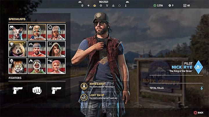 Specialists In Far Cry 5 Companions Far Cry 5 Game Guide
