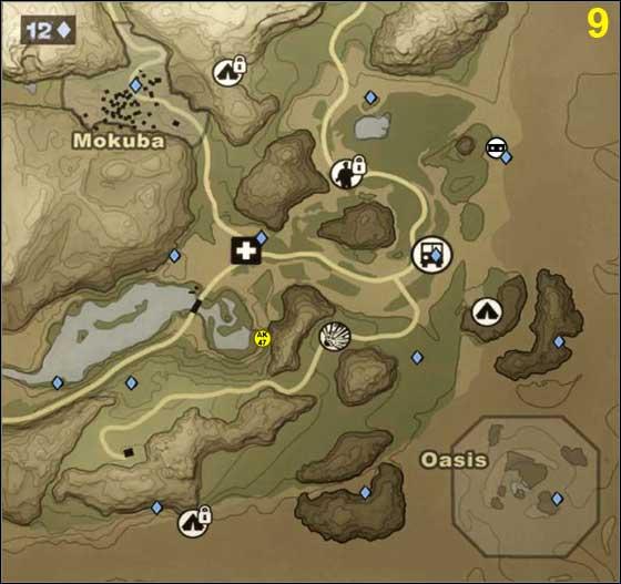 Sectors 7 9 Leboa Sako Maps Far Cry 2 Game Guide