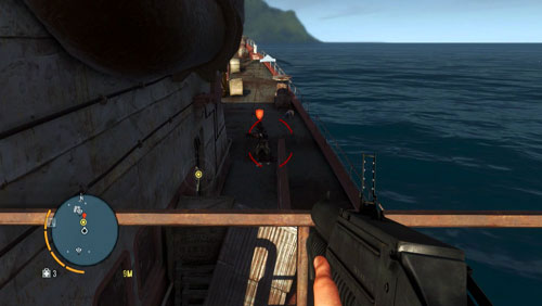 There are quite a few enemies onboard - Piece of the Past - Main missions - Far Cry 3 - Game Guide and Walkthrough