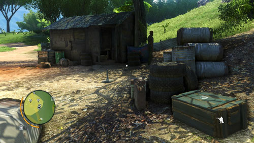 Enter the village and go to the house shown in the screenshot - Warrior Rescue Service - Main missions - Far Cry 3 - Game Guide and Walkthrough