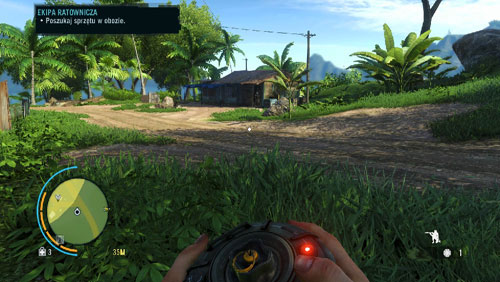 Go now to the north-western part of the village, where there is an armored enemy standing in front of a house, and dogs - Warrior Rescue Service - Main missions - Far Cry 3 - Game Guide and Walkthrough