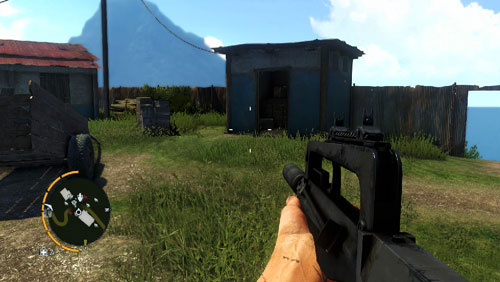 In the area marked as number three, You will face a building shown in the screenshot - The Southern Island - North-western part - Cult Objects - Far Cry 3 - Game Guide and Walkthrough