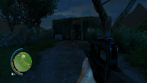 Reach the town marked as number four, where, inside the bunker shown in the screenshot, you will find the letter - The Southern Island - North-eastern part - Letters of the Lost - Far Cry 3 - Game Guide and Walkthrough