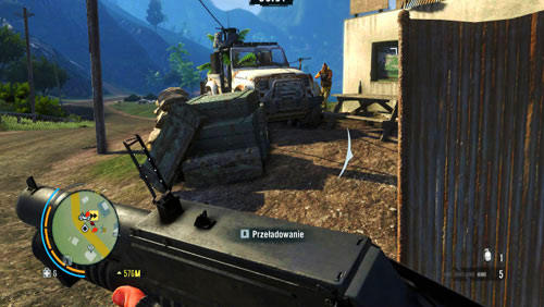 As you drive, you will have to deal with heavy fire on you and, sooner or later, your vehicle will be hit - Betting Against the House - Main missions - Far Cry 3 - Game Guide and Walkthrough