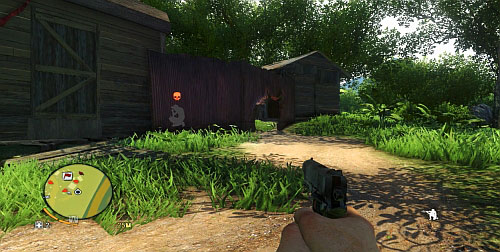 As you follow the fence to the right, you will find a hole - Secure The Outpost - Main missions - Far Cry 3 - Game Guide and Walkthrough