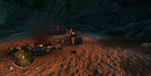 The head that you have found needs to be taken to Daisy, who can be found aboard the ship - Keeping Busy - Main missions - Far Cry 3 - Game Guide and Walkthrough