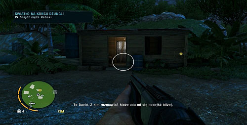 Enter the house marked with a blue exclamation mark - Light at the End of the Jungle - Plot missions - Far Cry 3 - Game Guide and Walkthrough
