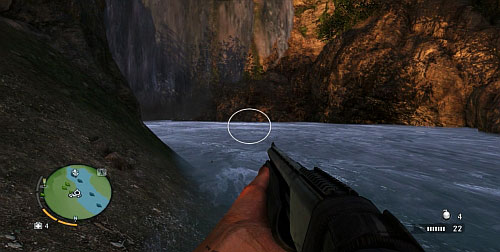 Dive near the waterfall - The Northern Island - Northern part - Cult Objects - Far Cry 3 - Game Guide and Walkthrough