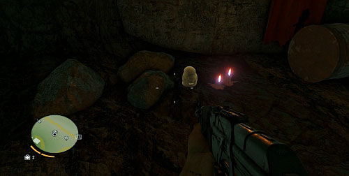 While on the Prison Break-In mission once you obtain the key from the camp operator, you will have to enter the cave - The Northern Island - South-western part - Cult Objects - Far Cry 3 - Game Guide and Walkthrough