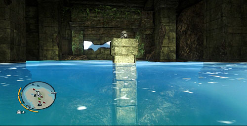 Get inside and swim up to the left side of the room, where there is another statuette - The Northern Island - South-western part - Cult Objects - Far Cry 3 - Game Guide and Walkthrough