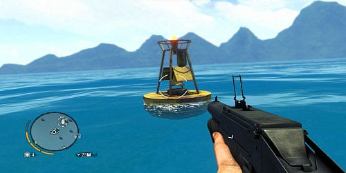 Before you set out for the area, equip yourself with the Deep Dive syringe - The Northern Island - South-western part - Cult Objects - Far Cry 3 - Game Guide and Walkthrough