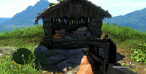 Reach the peak by taking the southern path shown on your map - The Northern Island - South-western part - Cult Objects - Far Cry 3 - Game Guide and Walkthrough