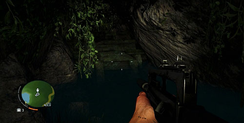 You will find yourself in front of a waterfall, which you need to swim behind - The Northern Island - South-western part - Cult Objects - Far Cry 3 - Game Guide and Walkthrough