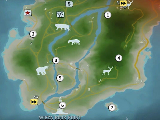 The Northern Island Northern Peninsula Cult Objects Far Cry 3 Game Guide Gamepressure Com