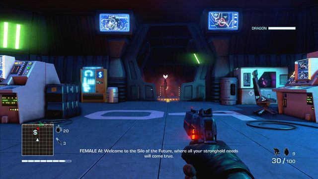 Kill enemies along your way and enter the complex - 4 - What is this shit? - Main missions - Far Cry 3: Blood Dragon - Game Guide and Walkthrough