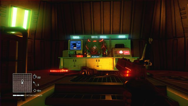 Get to the lower room and locate the fourth, last prototype - 4 - What is this shit? - Main missions - Far Cry 3: Blood Dragon - Game Guide and Walkthrough