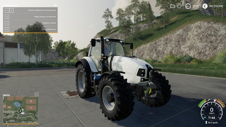 While creating Mach 230 VRT, Lamborghini designers proved that tractors can also be beautiful - New machines and vehicles | Farming Simulator 19 Mods - Mods - Farming Simulator 19 Guide and Tips