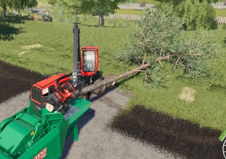 Harvesting wood in Farming Simulator 19 - Farming Simulator 19 Guide