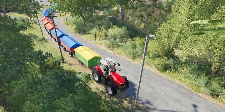 Can I combine semi-trailers in Farming Simulator 19? - Farming