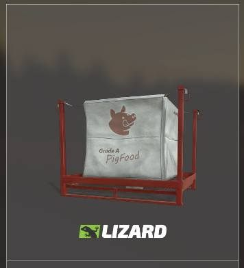 Sack of pig feed, available at the store. - Pigs | Husbandry in Farming Simulator 19 - Husbandry - Farming Simulator 19 Guide and Tips