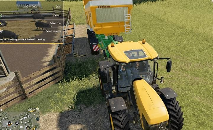 From a single potato harvest youll get food for days or even weeks; however, dont expect high efficiency in animal reproduction. - Pigs | Husbandry in Farming Simulator 19 - Husbandry - Farming Simulator 19 Guide and Tips
