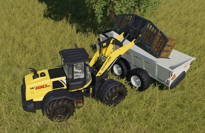 You must fill the manure spreader yourself. - Pigs | Husbandry in Farming Simulator 19 - Husbandry - Farming Simulator 19 Guide and Tips