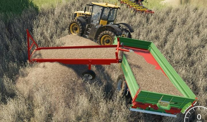 Even the first component of a belt system allows you to pick up goods from the ground and load them on trailers. - How does the belt system work in Farming Simulator 19? - FAQ - Farming Simulator 19 Guide and Tips