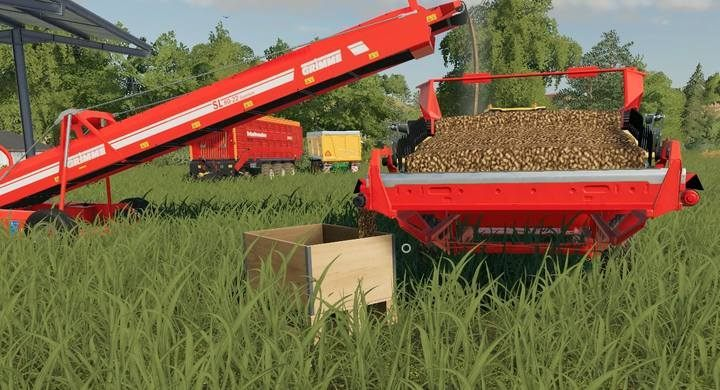 How does the belt system work in Farming Simulator 19? - Farming