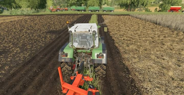 Merging fields with the use of plough. - How to enlarge or merge fields in Farming Simulator 2019? - FAQ - Farming Simulator 19 Guide and Tips