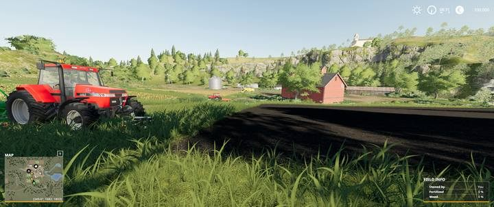 Starting area in Ravenport. - Difficulty Levels in Farming Simulator 19 - Tips and curiosities - Farming Simulator 19 Guide and Tips