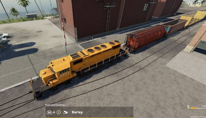 There is always at least one collection point that serves the train. - Trains in Farming Simulator 19 - Tips and curiosities - Farming Simulator 19 Guide and Tips